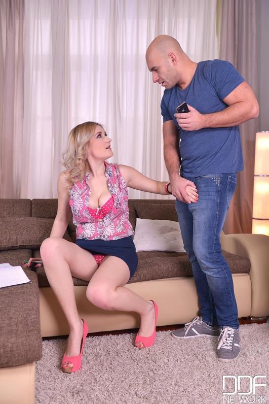Helpers Needed - Hot Czech Chick Gets Fucked By Two Guys #2