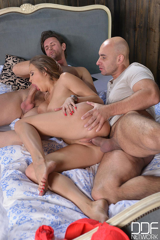 Sweet Dreams Are Made Of A Russian Pussy Being Double Penetrated #8