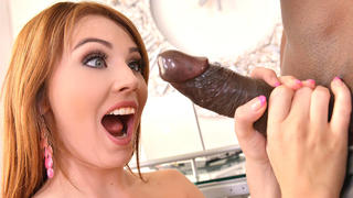Super Dong Insertion - Thick Black Cock Fucks Tight Teen