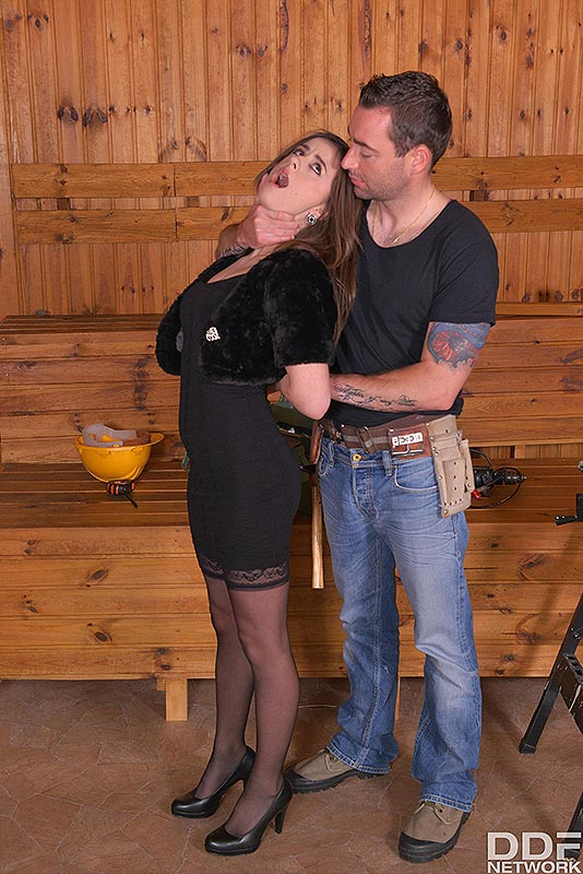 Fetish Education Situation: VR Ass Fuck On The Workbench #1