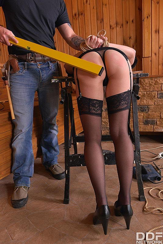 Fetish Education Situation: VR Ass Fuck On The Workbench #2