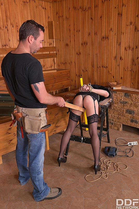Fetish Education Situation: VR Ass Fuck On The Workbench #3