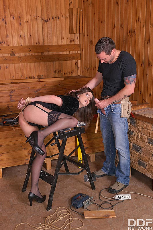 Fetish Education Situation: VR Ass Fuck On The Workbench #4