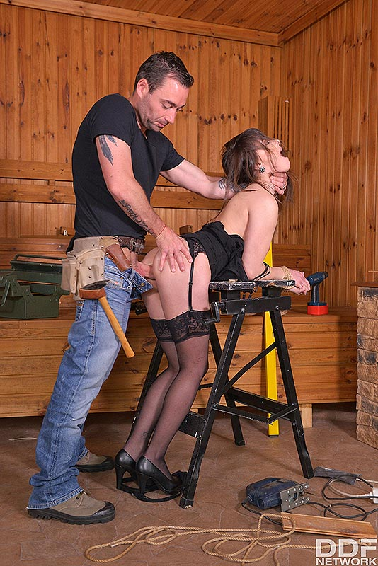 Fetish Education Situation: VR Ass Fuck On The Workbench #10