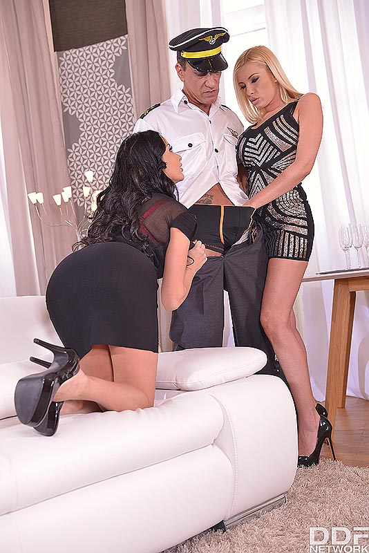 Threesome Celebration - An Ass Fucking Surprise Extraordinaire #3