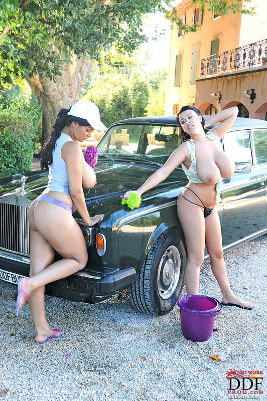 Girls washing each other! #9
