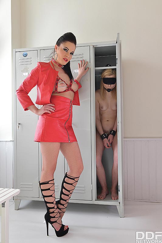 Latvian Teen Spanked and Gagged #1