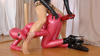 Lucy's Latex Ballet Studio!