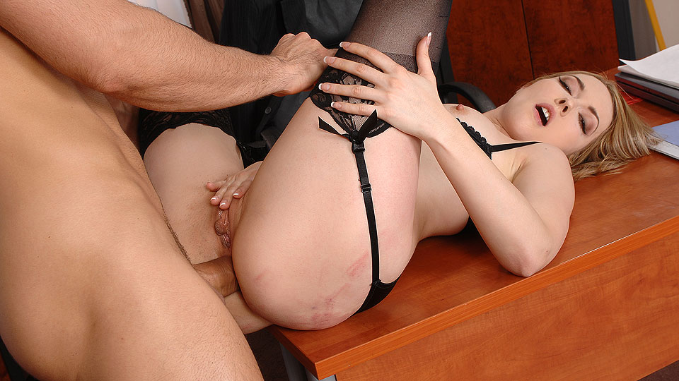 Correcting The Clumsy Secretary!
