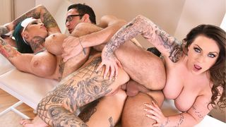 Tattooed Nurses Gone Wild - Humiliation in The Doctor's Office